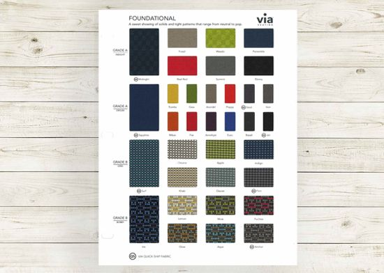 Picture of Foundational textile card (Grade A & B, fabrics).