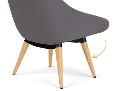 Picture for category Lounge wood legs