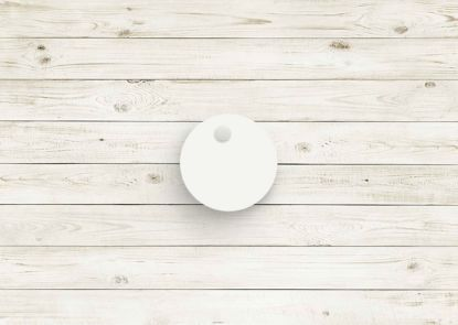 Picture of White poly chip. #03