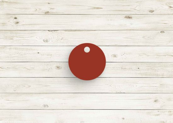 Picture of Eclipse cherry red poly chip. #10