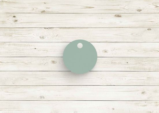 Picture of Eclipse dark mint poly chip. #11